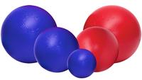 Jolly Ball Push-n-Play 35cm blauw