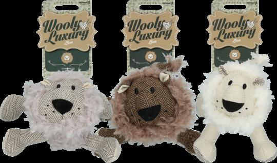 Wooly Luxury Leeuw Grijs
