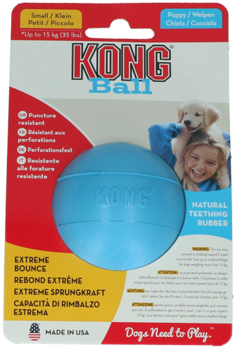 Kong Puppy Ball w/Hole Small
